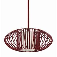 Fredrick Ramond FR32557 1-Light Full Sized Pendant from the Vibe Collection