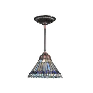 Buy meyda tiffany pendant lighting online at overstock our meyda tiffany 67708 single light 8 wide mini pendant with handmade shade aloadofball Images