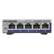NEW NETGEAR ProSAFE GS105Ev2 5-Port Gigabit Web Managed Plus Switch
