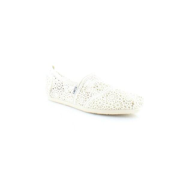 55882f92ec2 Shop TOMS Classics Women s Flats   Oxfords Natural Moroccan Crochet ...