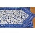 Handmade Floral Rajasthan Block Print Tablecloth 100% Cotton Rectangular Square Round Napkins - Thumbnail 12