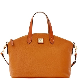 Dooney & Bourke Pebble Grain Satchel (Introduced by Dooney & Bourke at $248 in Dec 2015) - Caramel