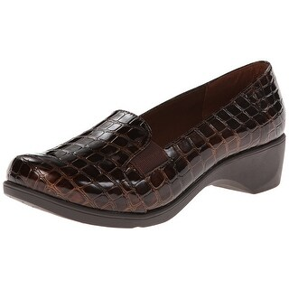 Soft Style NEW Brown Shoes Size 6M Animal-Skin Slip-On Kaden