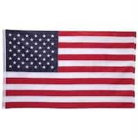 5 X 3 100 Percent Nylon Embroidered Usa Flag