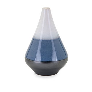 IMAX Home 25534  Naz Medium Ceramic Vase - Multi-Colored
