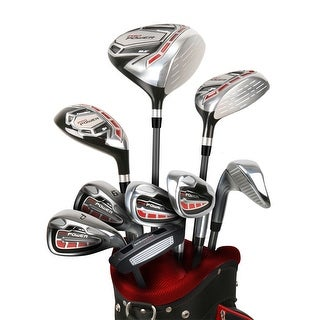 2017 Powerbilt Pro Power Package Set RH (all graphite w/ cart bag)