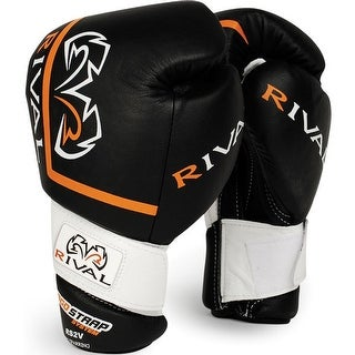 Rival Boxing High Performance Pro Sparring Gloves - Black