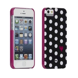 Case-Mate Barely There Prints Case for Apple iPhone 5/5S - Polka Love