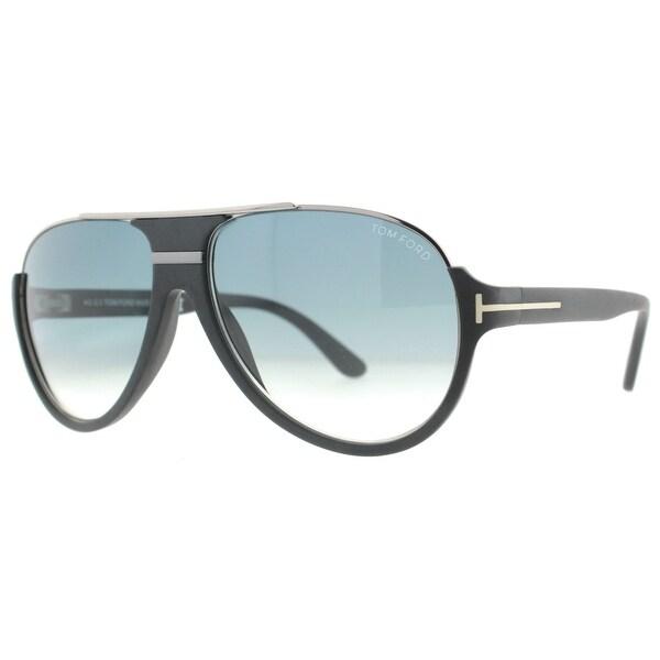 570616d01b7db Tom Ford Dimitry TF334 02W Matte Black Ruthenium Aviator Sunglasses - matte  black ruthenium