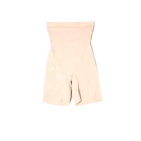 Miraclesuit Womens Shapewear Beige Size XL High-Waist Slimming Shorts