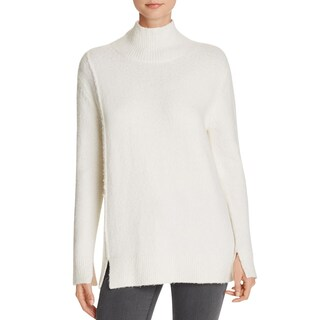 French Connection Womens Pullover Sweater Ribbed Trim Long Sleeves