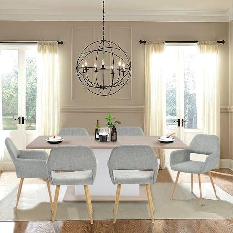 Carson Carrington Saimovaara Linen Dining Chair (Set of 2)