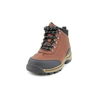 Timberland Back Road Hiker Youth Round Toe Leather Brown Hiking Boot
