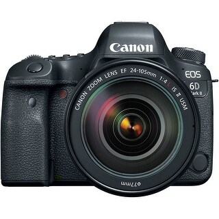Canon EOS 6D Mark II DSLR Camera with EF 24-105mm f/4 L IS II USM Lens