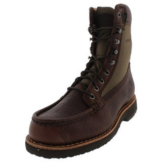 Chippewa Mens Work Boots Leather Waterproof