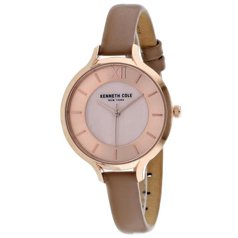 Kenneth Cole Women's Classic Mother of Pearl Dial Watch - KC15187004 - One Size