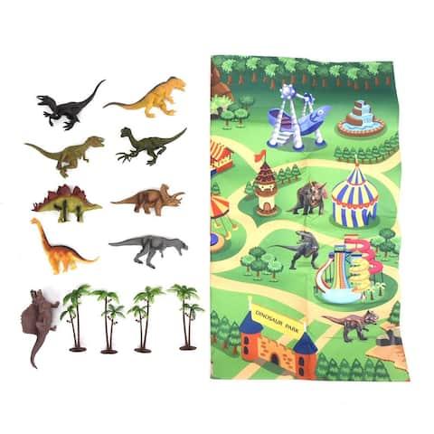 WonderPlay Dino Mat Play Set Little Kid 4 - 6 years Random Colors