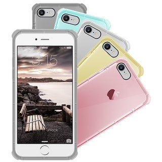 Apple iPhone 7 Silicone Clear Cover Bumper Rubber Case