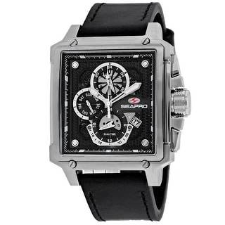 Link to Seapro Men's Black Dial Watch - SP0111 - One Size Similar Items in Men's Watches