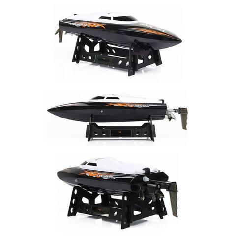 Udirc 2.4GHz RC Boat High Speed Remote Control Black & Orange