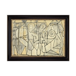 Link to The Kitchen by Pablo Picasso  Black Frame OIl Painting Canvas Print Size 28 In. x 22 In. Similar Items in Art Prints
