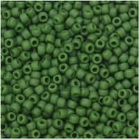 Toho Seed Beads, Round 11/0 Semi Glazed, 8 Gram Tube, Clover