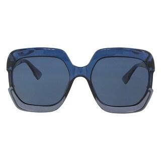 Christian Dior DIORGAIA 0PJP Blue Square Sunglasses - 58-20-140