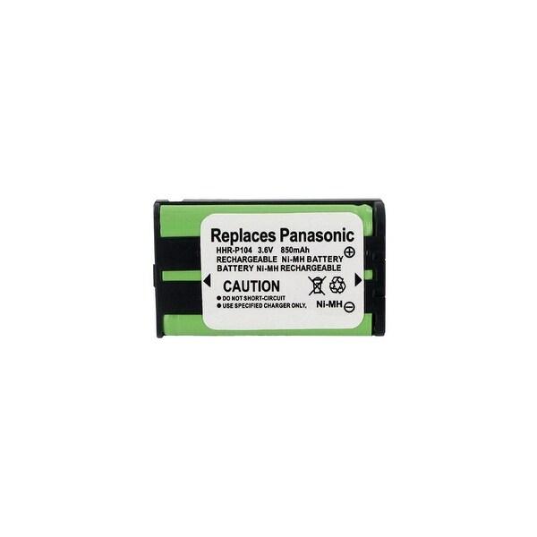 Replacement Battery For Panasonic KX-TG2344 Cordless Phones - P104 (850mAh, 3.6V, Ni-MH)