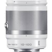 Nikon 1 NIKKOR 10-100mm f/4.0-5.6 VR Lens (White) (Open Box)
