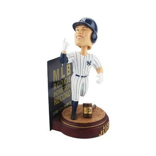 New York Yankees Aaron Judge Rookie Home Run Record Bobblehead - multi