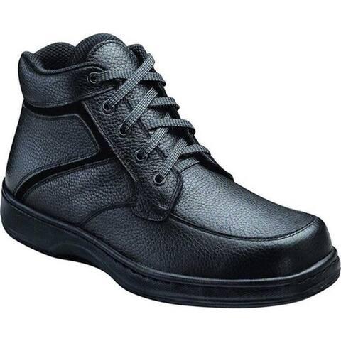 Orthofeet Men's Highline Black Leather