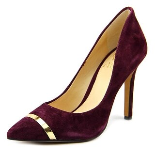 Vince Camuto Cresida2 Women Pointed Toe Suede Purple Heels