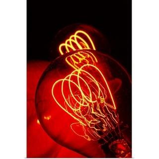 """bulb"" Poster Print"