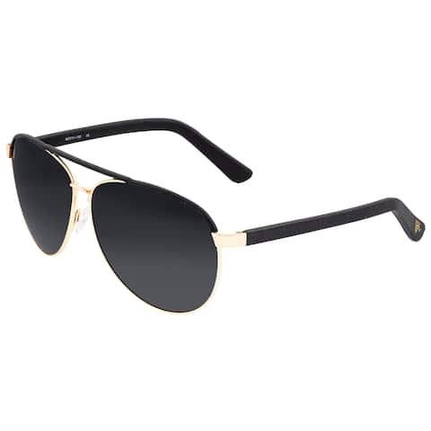 Sixty One Wreck Polarized Sunglasses - Gold/Black - Black