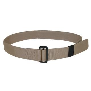 CTM® Men's Big & Tall Fabric 1 3/4 Inch BDU Adjustable Belt - One size