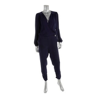 Parker Womens Silk Long Sleeves Jumpsuit