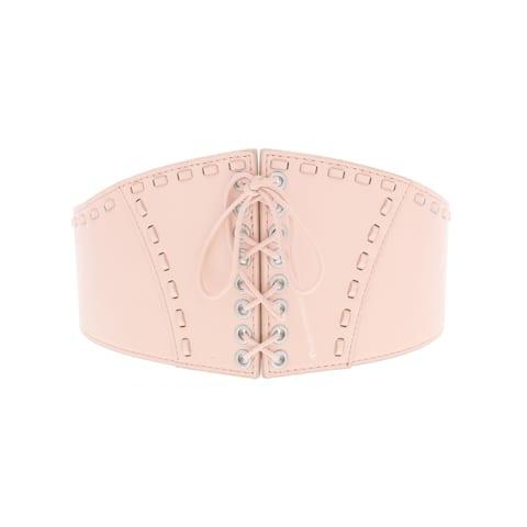 BCBGeneration Womens Fashion Belt Faux Leather Lace-Up