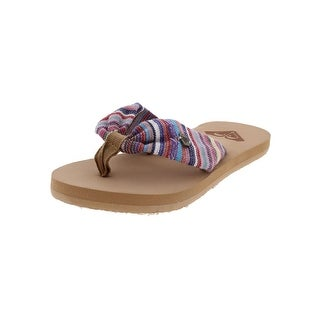 Roxy Girls Flip-Flops Striped Flats