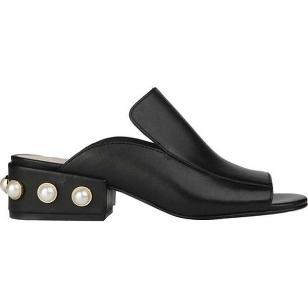e85b5eabc9223 Kenneth Cole New York Women's Farley Slide Black Pearl Leather