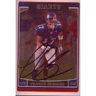 Plaxico Burress New York Giants 2006 Topps Chrome Autographed Card Nice Card This item comes with