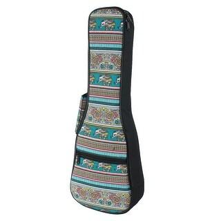 Saprano Electric Nylon #3 Ukulele Case Uke Gig Bag Backpack 21inches