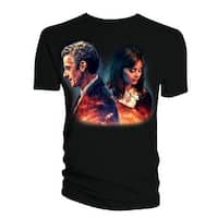 Doctor Who Classic Mens T-Shirt Alice X. Zhang 12Th Doctor