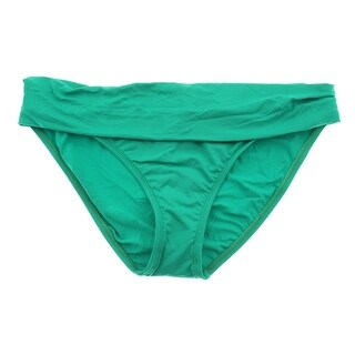 La Blanca Womens Shirred Fold-Over Swim Bottom Separates