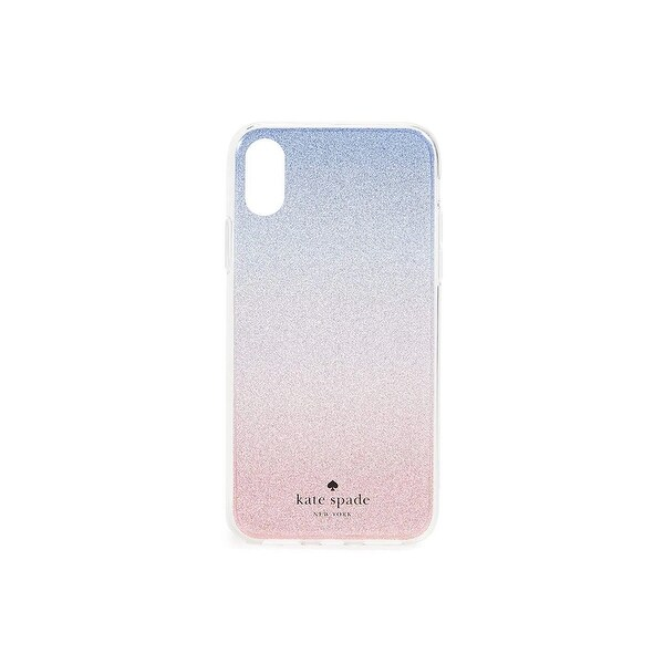 9ef676a8f49b Kate Spade New York Sunset Glitter Ombre iPhone X / iPhone Xs Case, Pink  Multi
