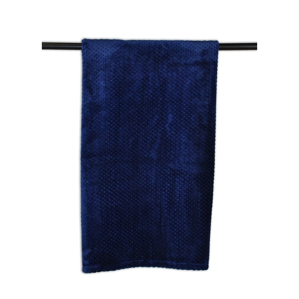 "60"" x 50"" Blue Decorative Stadium Throw Blanket"