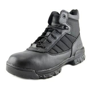 Bates Tactical Sport Men EW Round Toe Leather Black Combat Boot