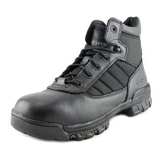 Bates Tactical Sport Men Round Toe Leather Black Combat Boot