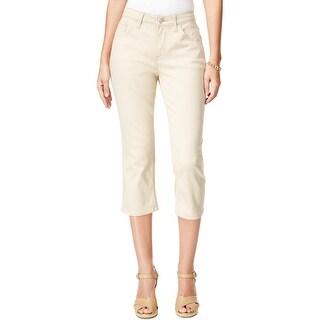 Lee Womens Capri Jeans Slimming Easy Fit