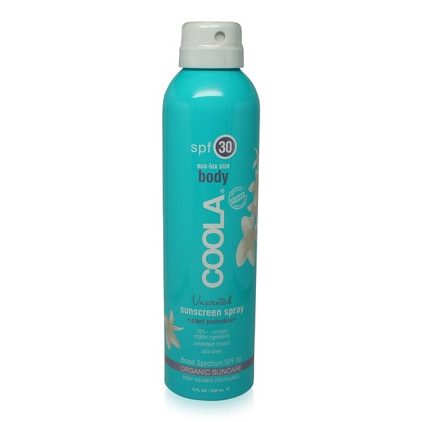 COOLA Sport Unscented Continuous Spray SPF 30 236ml