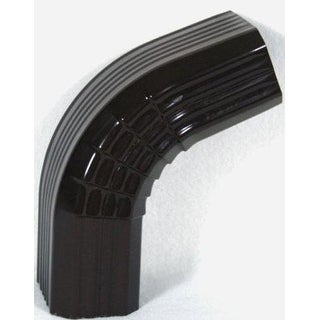 Genova AB201A Elbow Downspout A-Style Brown